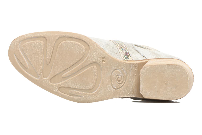 Bottines et boots Khrio Livana Or et bronze vue haut