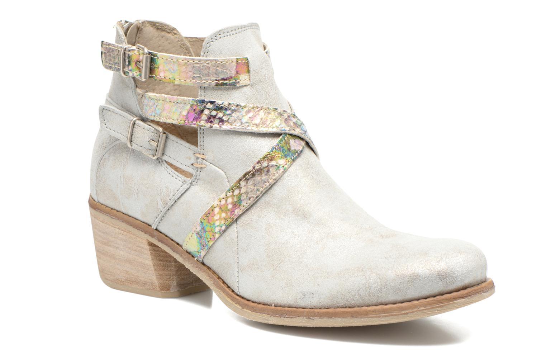 Bottines et boots Khrio Livana Or et bronze vue détail/paire