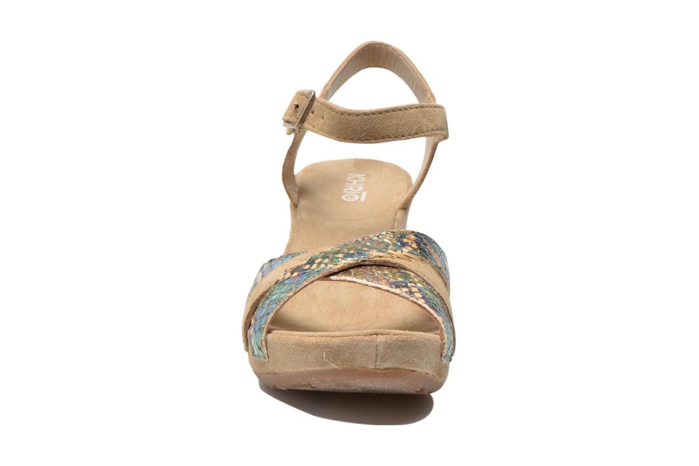 Sandales et nu-pieds Khrio Lounaka Beige vue portées chaussures