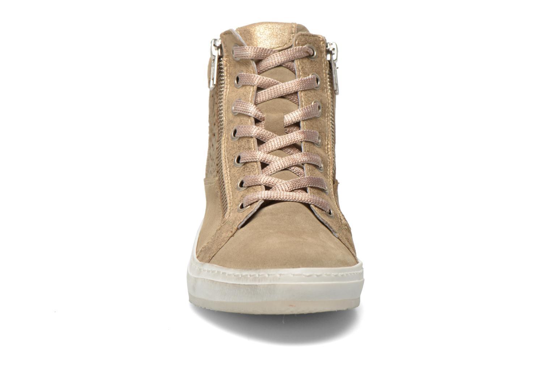 Baskets Khrio Maiana Beige vue portées chaussures