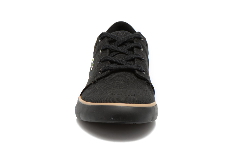 Sneaker Lacoste Bayliss 116 2 schwarz schuhe getragen