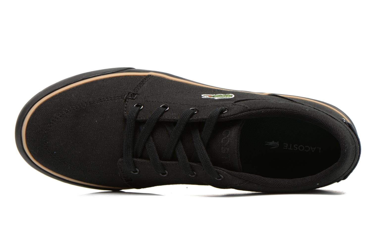 Trainers Lacoste Bayliss 116 2 Black view from the left