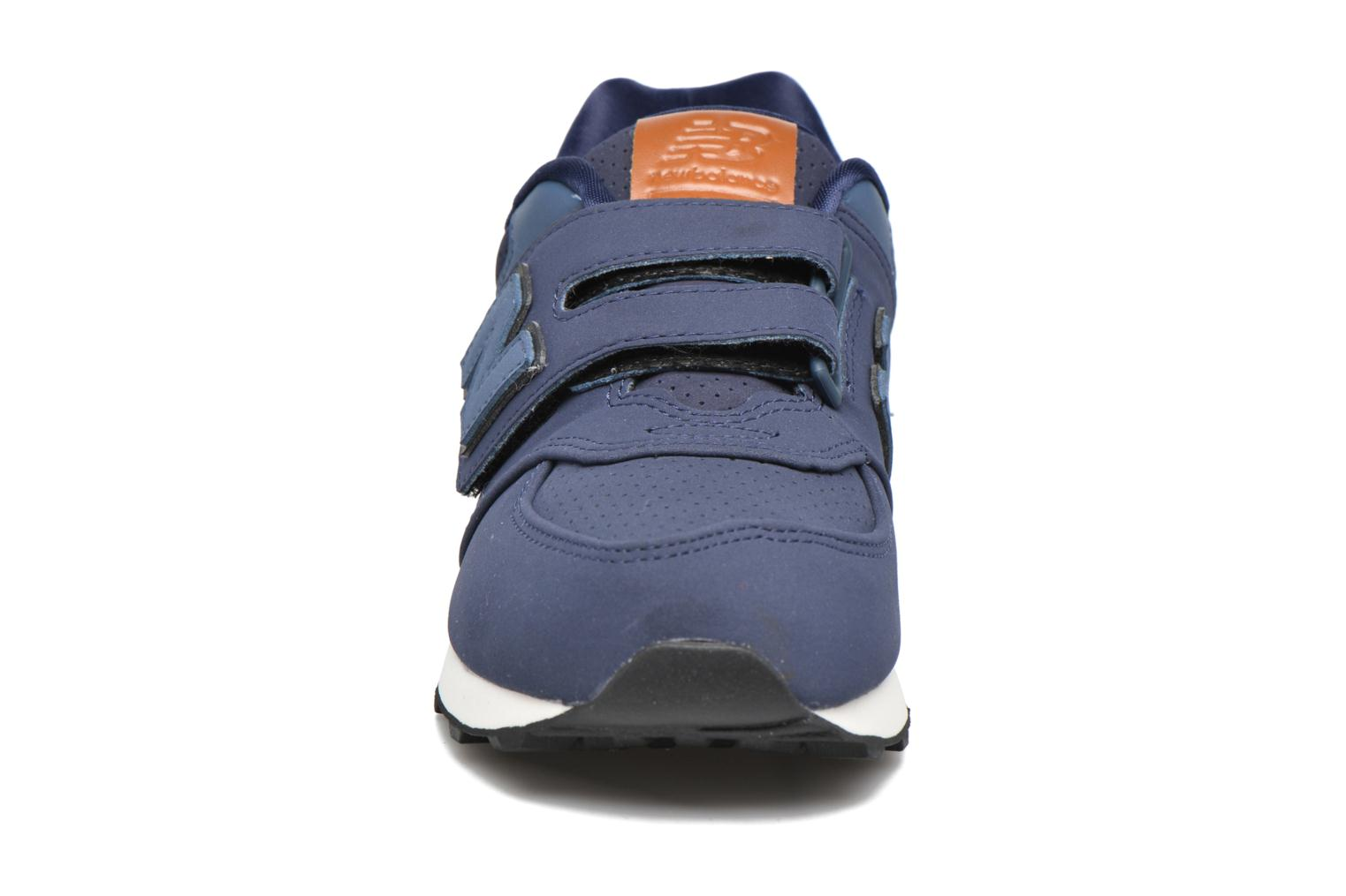 Trainers New Balance KV574 J Blue model view