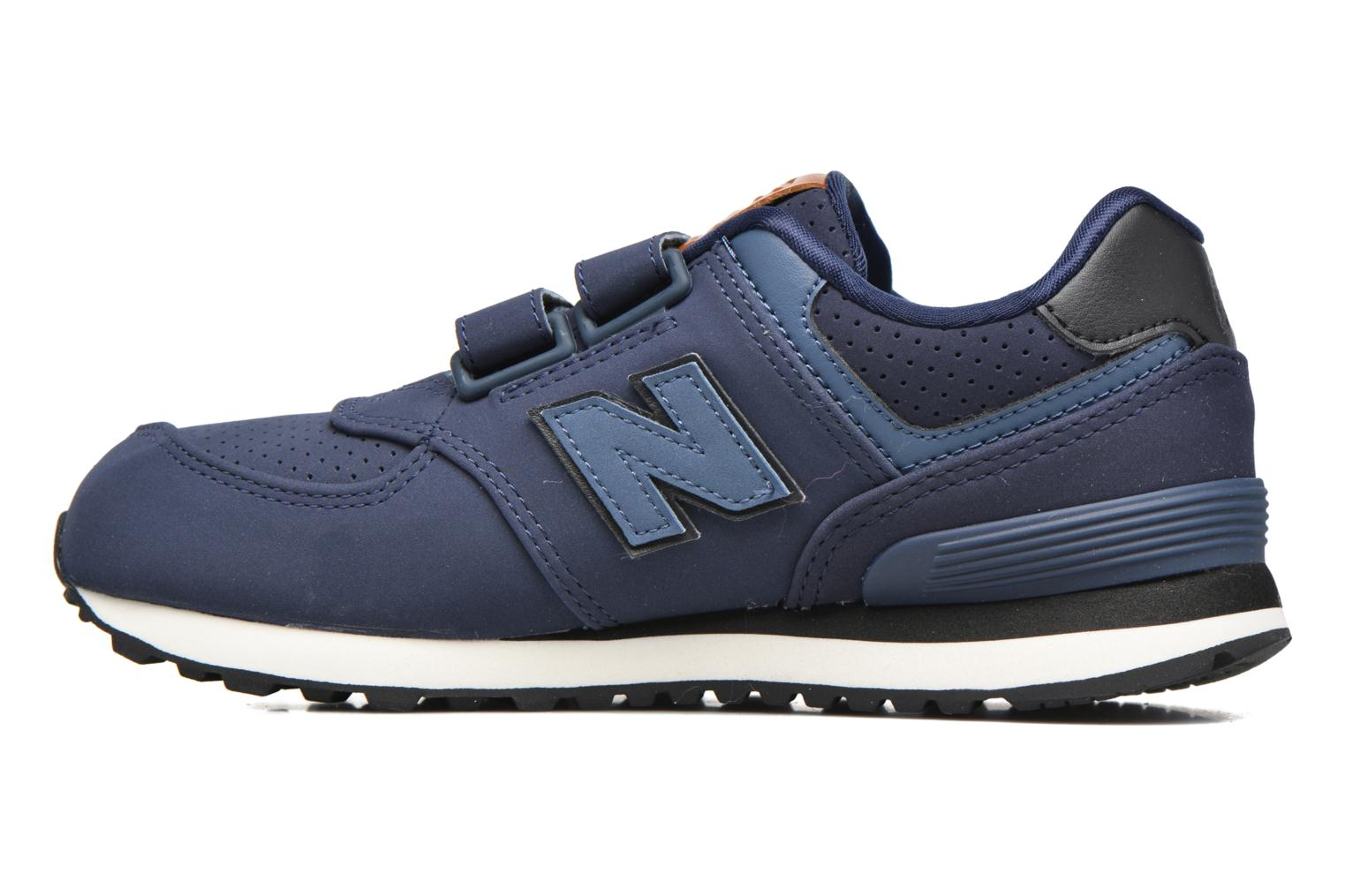 Trainers New Balance KV574 J Blue front view