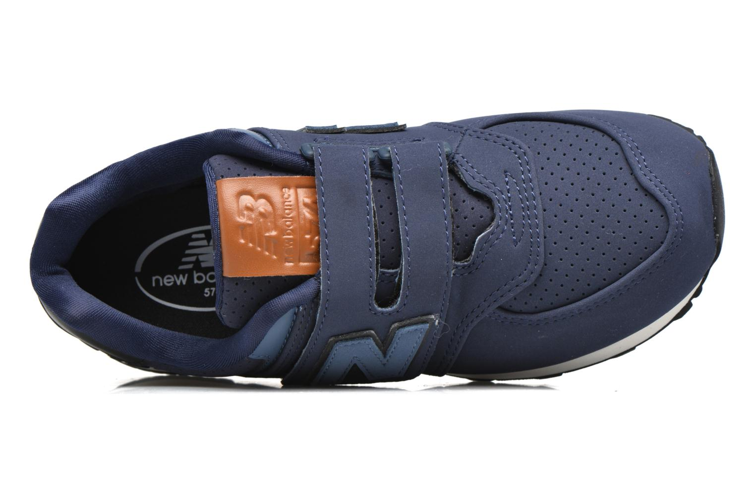 Trainers New Balance KV574 J Blue view from the left