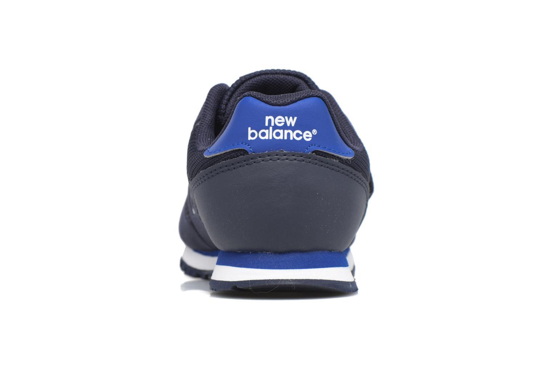 Baskets New Balance KV373 J Bleu vue droite