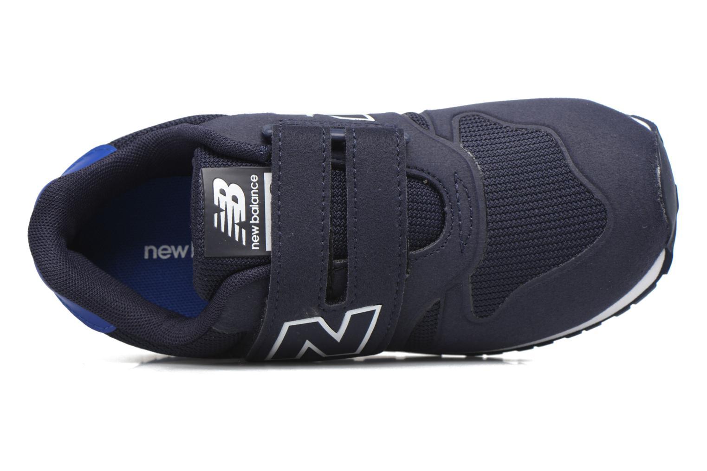 Baskets New Balance KV373 J Bleu vue gauche
