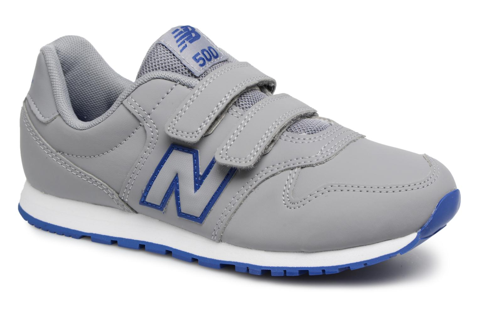 Trainers New Balance KV500 J Grey detailed view/ Pair view