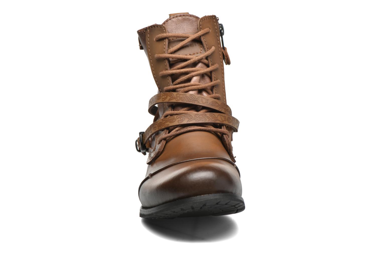 Bottines et boots Bunker Sara Kol Marron vue portées chaussures