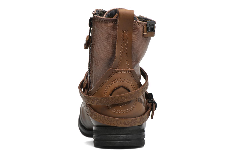 Bottines et boots Bunker Sara Kol Marron vue droite