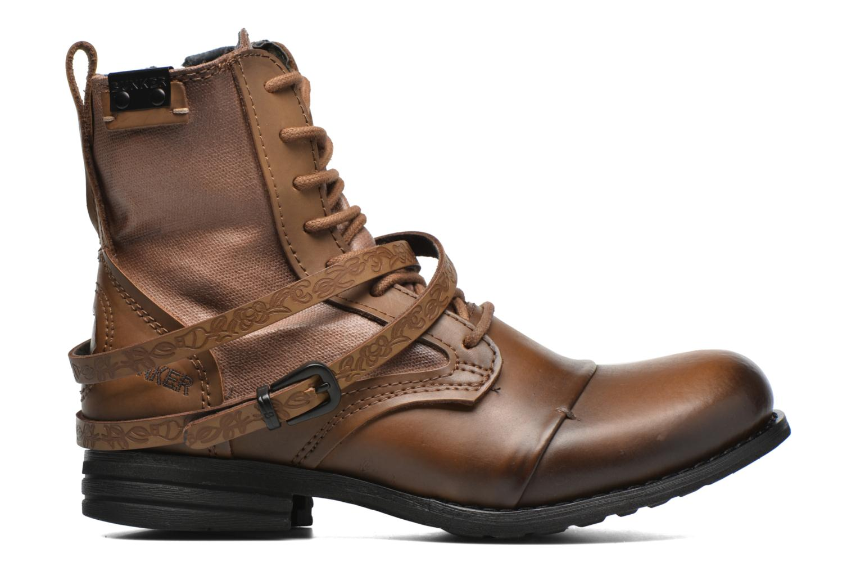 Bottines et boots Bunker Sara Kol Marron vue derrière