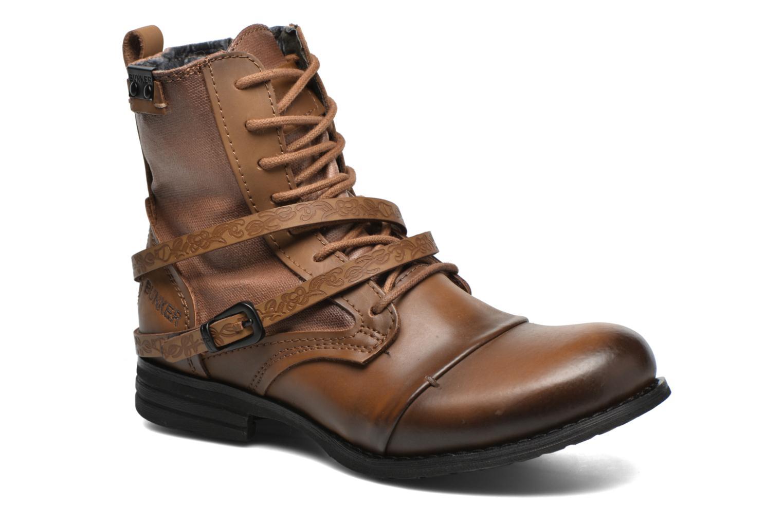 Bottines et boots Bunker Sara Kol Marron vue détail/paire
