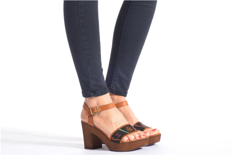 Sandales et nu-pieds Bunker Lucy Luz Multicolore vue bas / vue portée sac