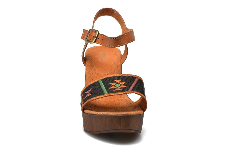Sandales et nu-pieds Bunker Lucy Luz Multicolore vue portées chaussures