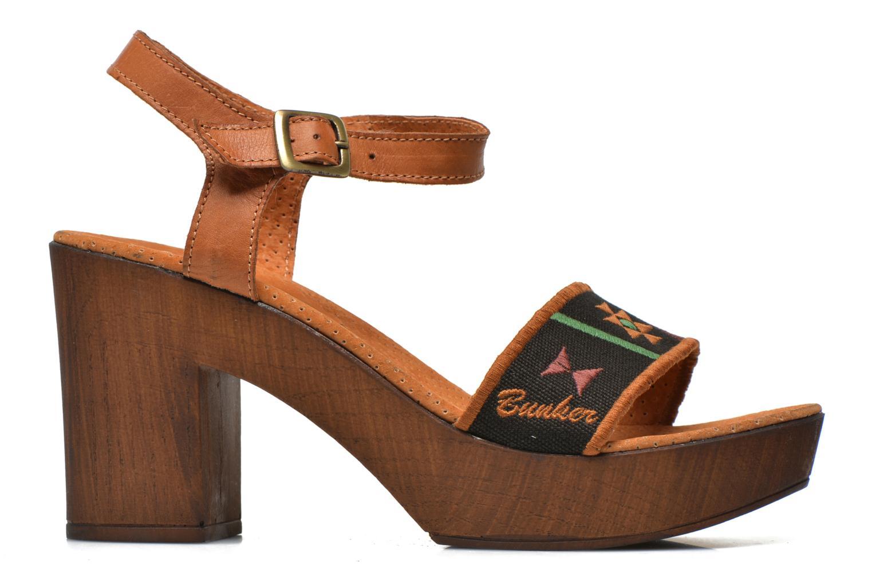 Sandales et nu-pieds Bunker Lucy Luz Multicolore vue derrière