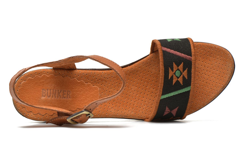 Sandales et nu-pieds Bunker Lucy Luz Multicolore vue gauche