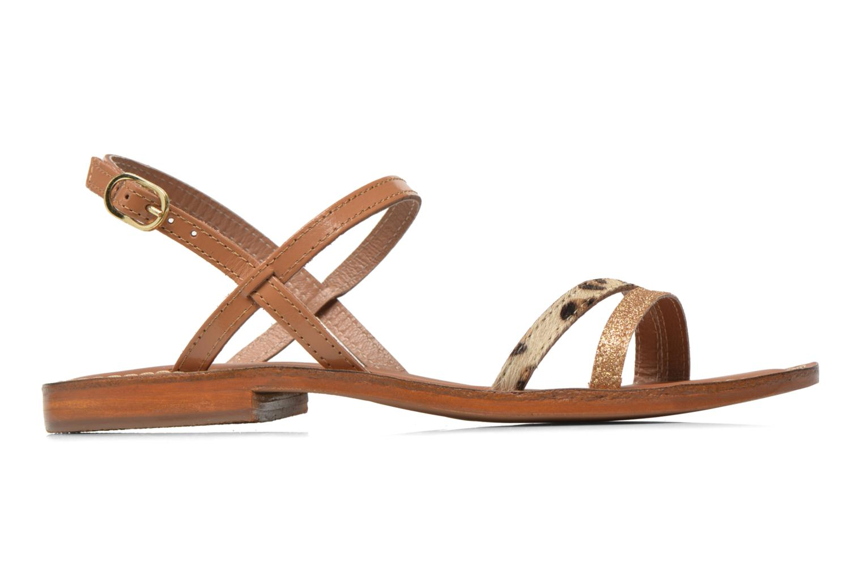 Sandales et nu-pieds L'Atelier Tropézien Laurette Marron vue derrière