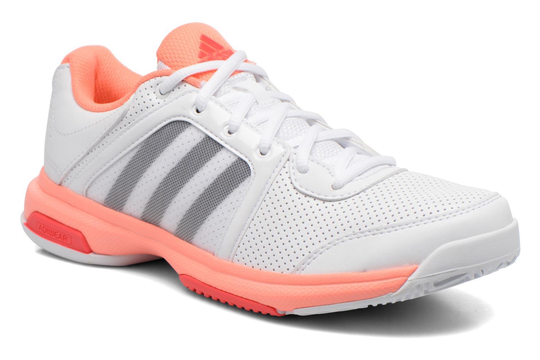 sport schuhe adidas performance barrikade aspire str weiße detaillierte