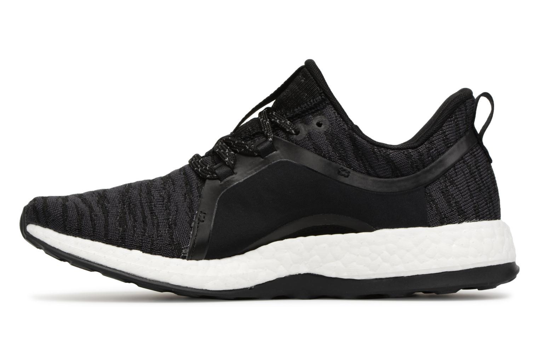 Sportschuhe Adidas Performance Pureboost X schwarz ansicht von vorne