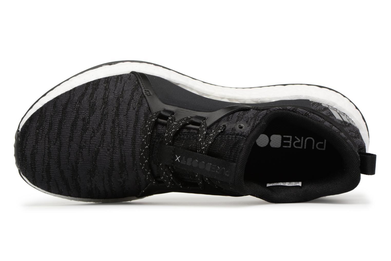 Sportschuhe Adidas Performance Pureboost X schwarz ansicht von links