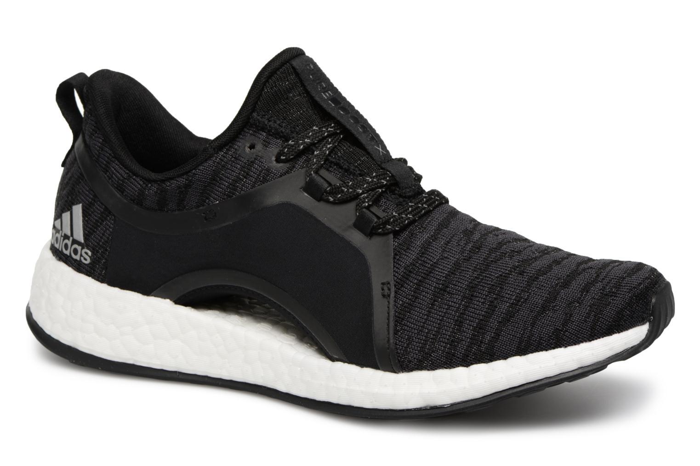 Chaussures de sport Adidas Performance Pureboost X Noir vue détail/paire