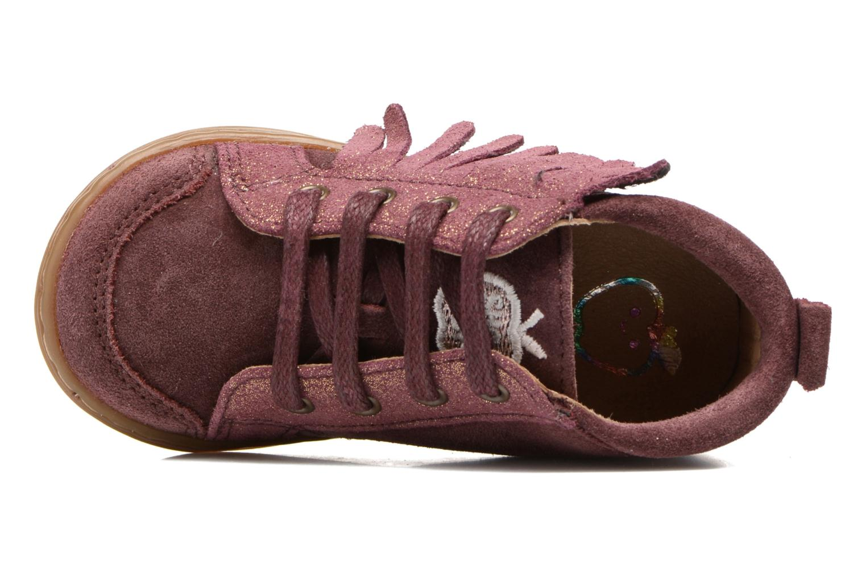 Bottines et boots Shoo Pom Bouba Lace Fringe Rose vue gauche