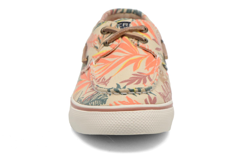 Schnürschuhe Sperry Bahama Seaweed Print mehrfarbig schuhe getragen