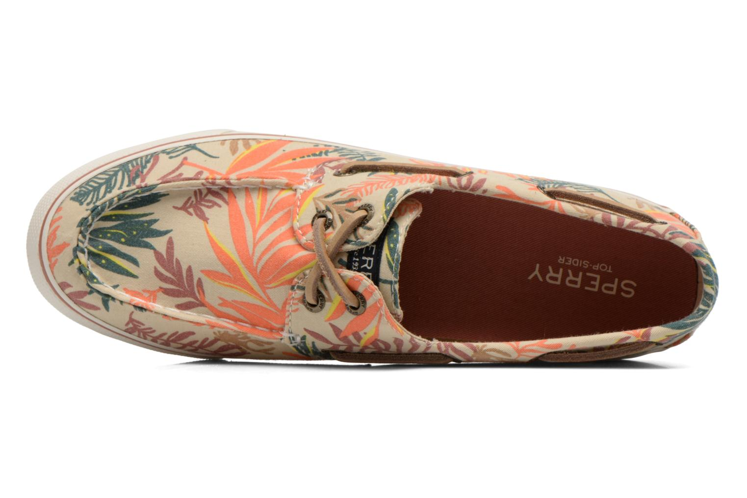 Chaussures à lacets Sperry Bahama Seaweed Print Multicolore vue gauche