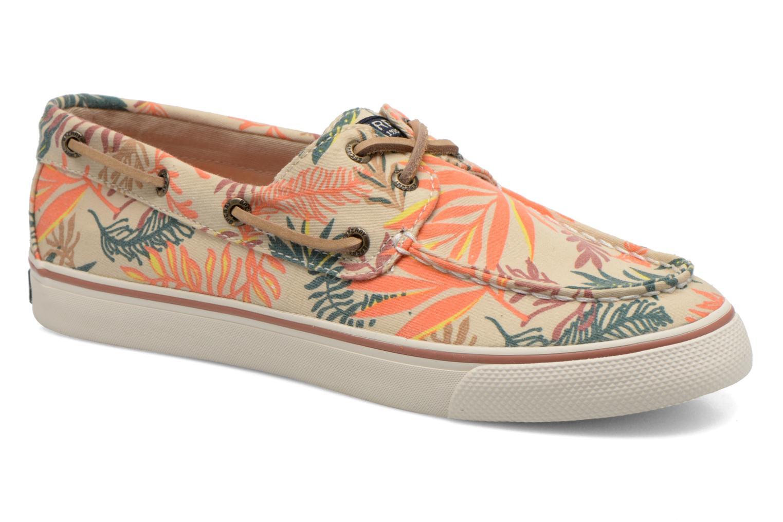Chaussures à lacets Sperry Bahama Seaweed Print Multicolore vue détail/paire