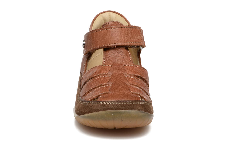 Sandales et nu-pieds Naturino Andrea 163 VL Marron vue portées chaussures