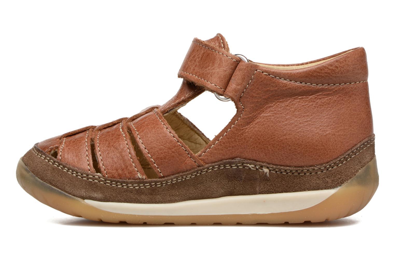 Sandales et nu-pieds Naturino Andrea 163 VL Marron vue face