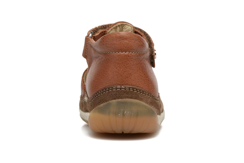 Sandales et nu-pieds Naturino Andrea 163 VL Marron vue droite