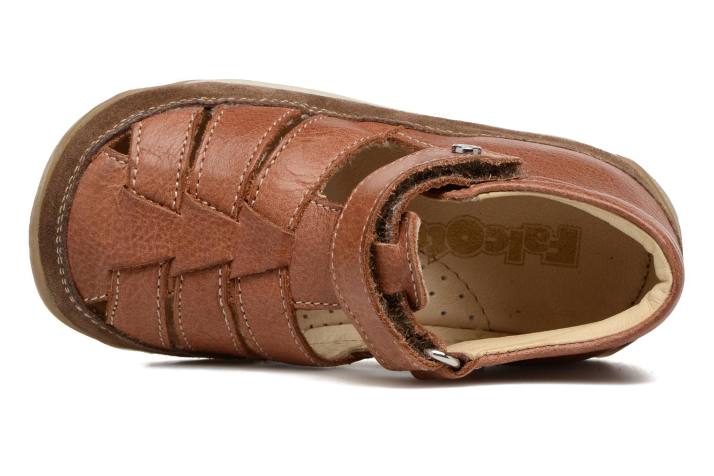 Sandales et nu-pieds Naturino Andrea 163 VL Marron vue gauche