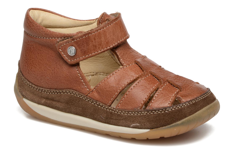 Sandales et nu-pieds Naturino Andrea 163 VL Marron vue détail/paire