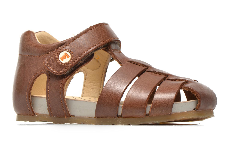 Sandales et nu-pieds Naturino Gabriele 1405 Marron vue derrière