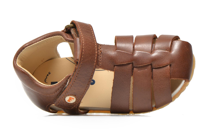 Sandales et nu-pieds Naturino Gabriele 1405 Marron vue gauche