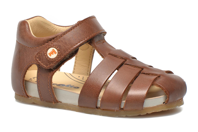 Sandales et nu-pieds Naturino Gabriele 1405 Marron vue détail/paire