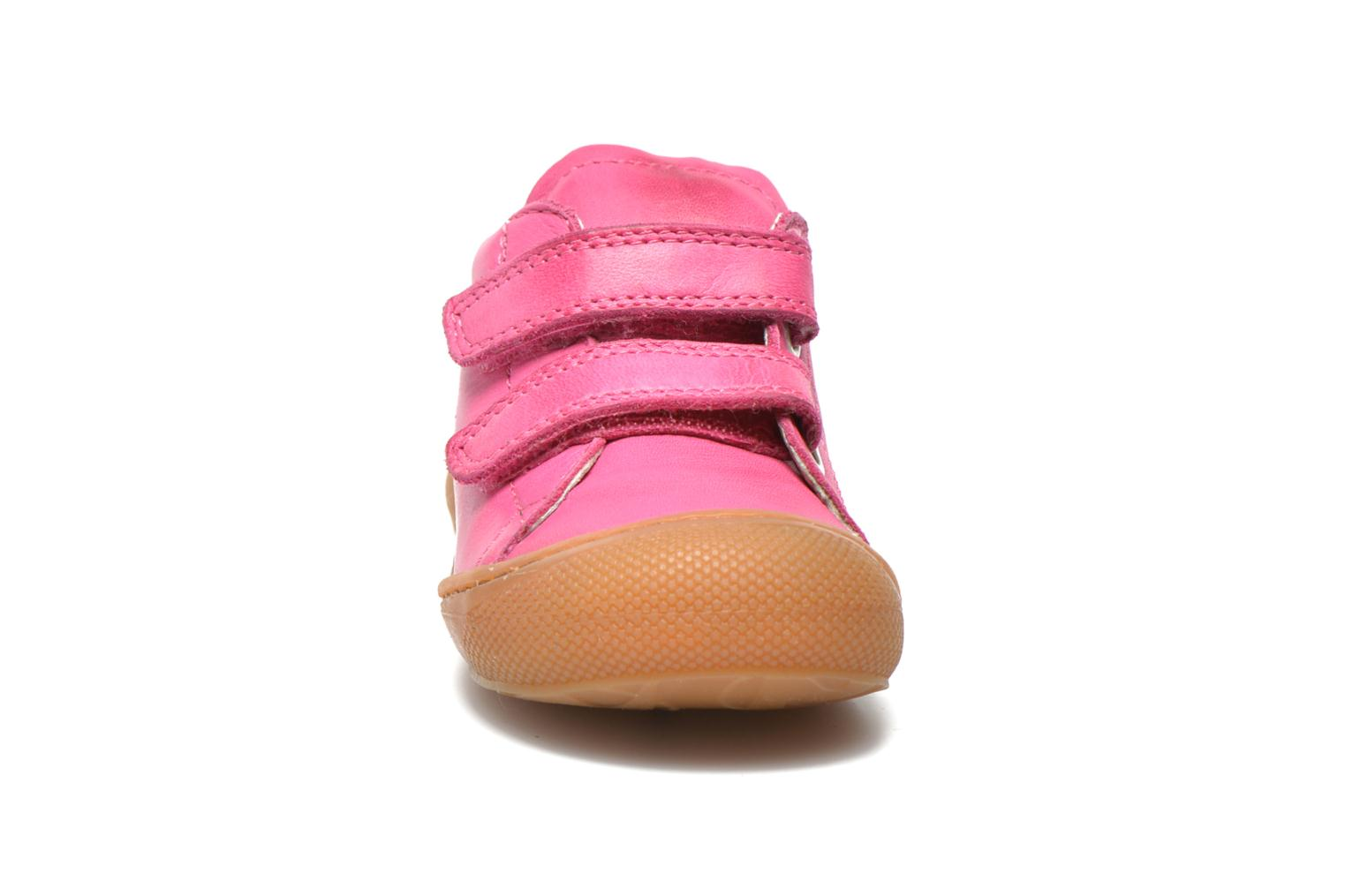 Baskets Naturino Cocoon VL Rose vue portées chaussures