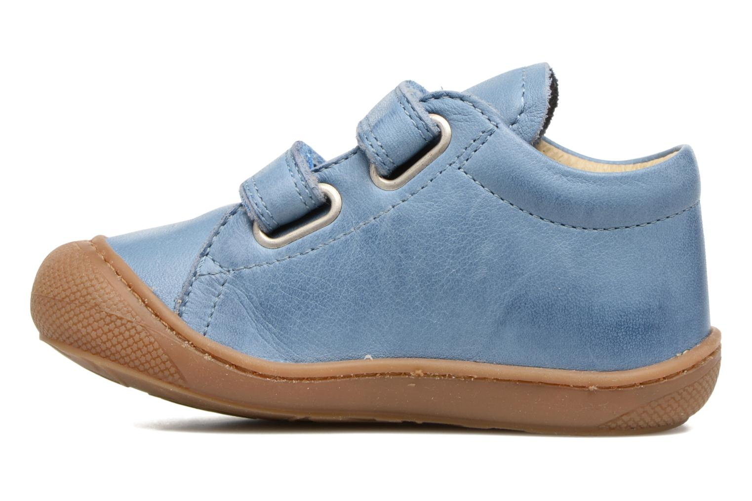 Trainers Naturino Cocoon VL Blue front view