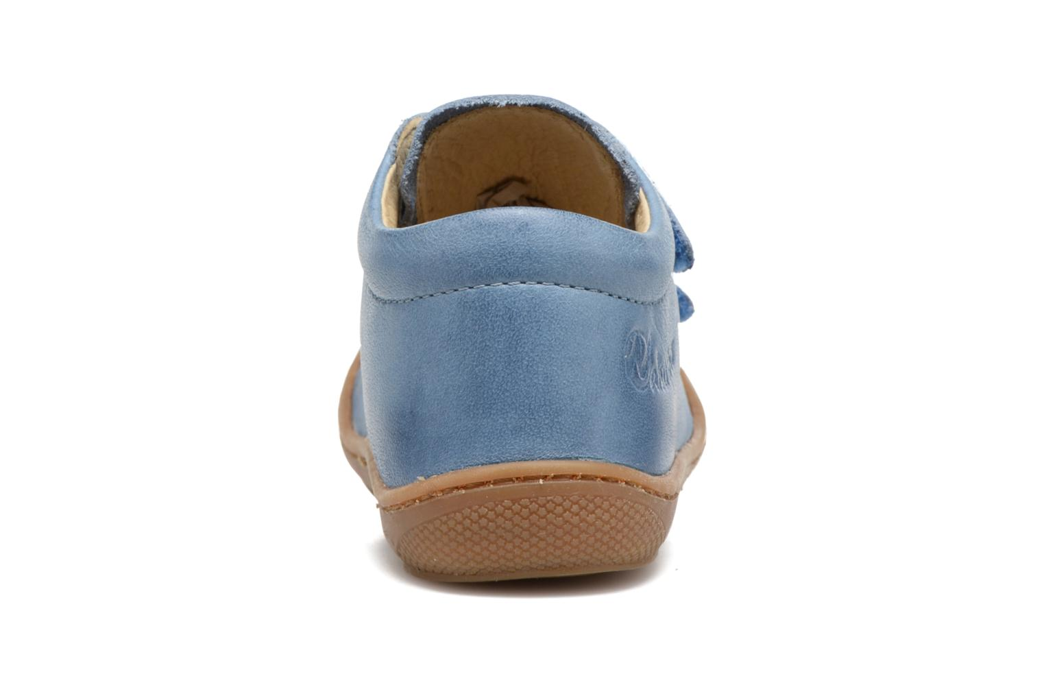 Trainers Naturino Cocoon VL Blue view from the right
