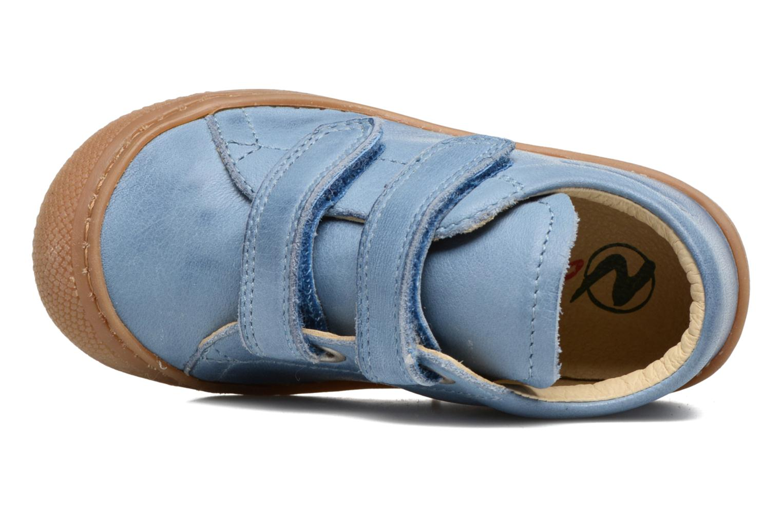 Trainers Naturino Cocoon VL Blue view from the left