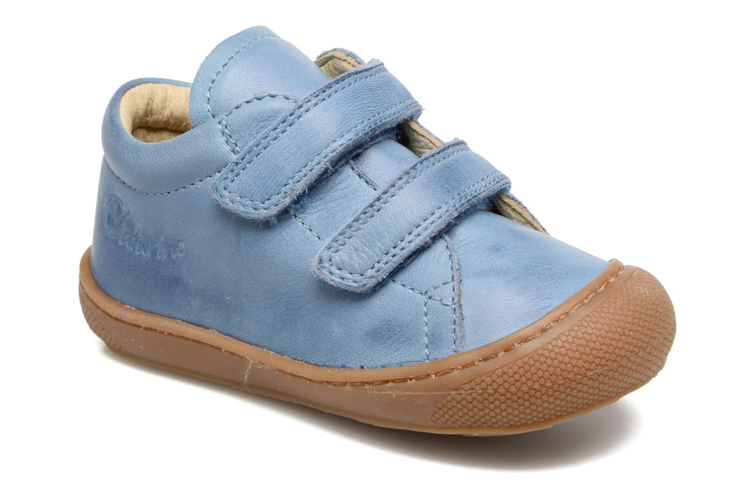 Trainers Naturino Cocoon VL Blue detailed view/ Pair view