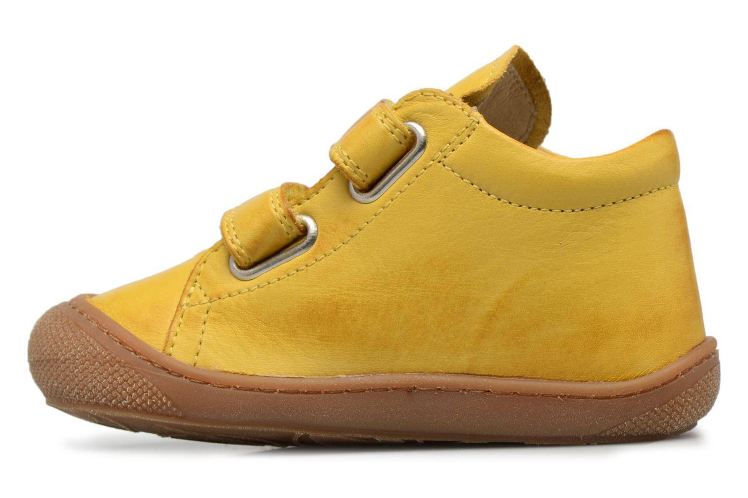 Trainers Naturino Cocoon VL Yellow front view