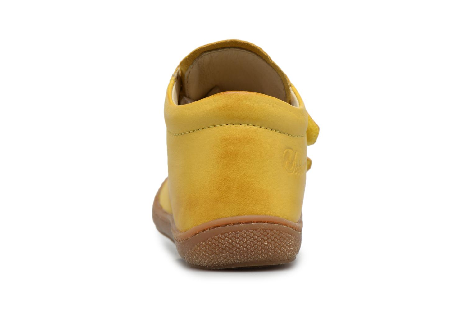 Trainers Naturino Cocoon VL Yellow view from the right