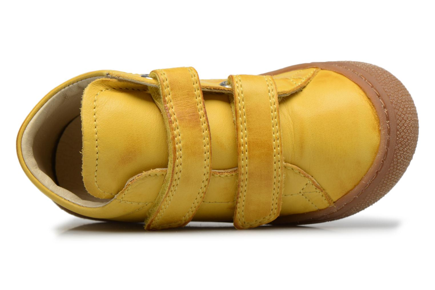 Trainers Naturino Cocoon VL Yellow view from the left