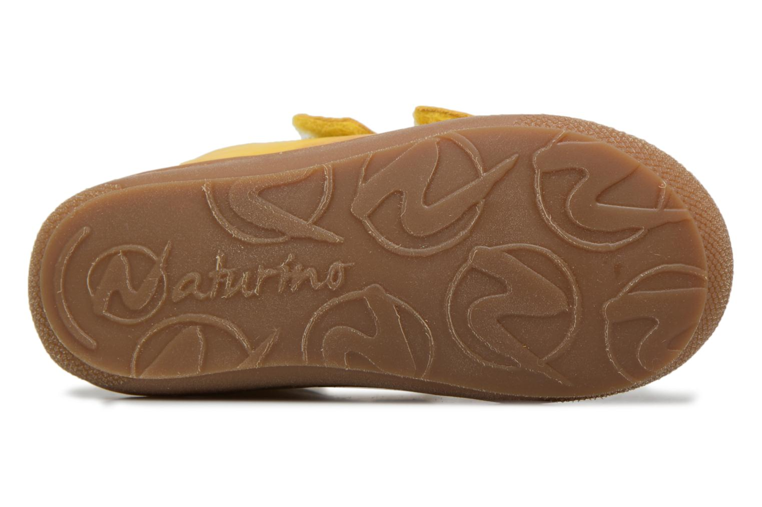 Trainers Naturino Cocoon VL Yellow view from above