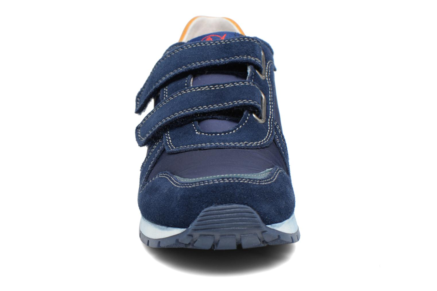 Trainers Naturino Bomba VL Blue model view