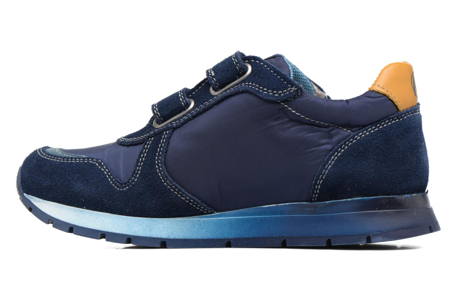 Trainers Naturino Bomba VL Blue front view