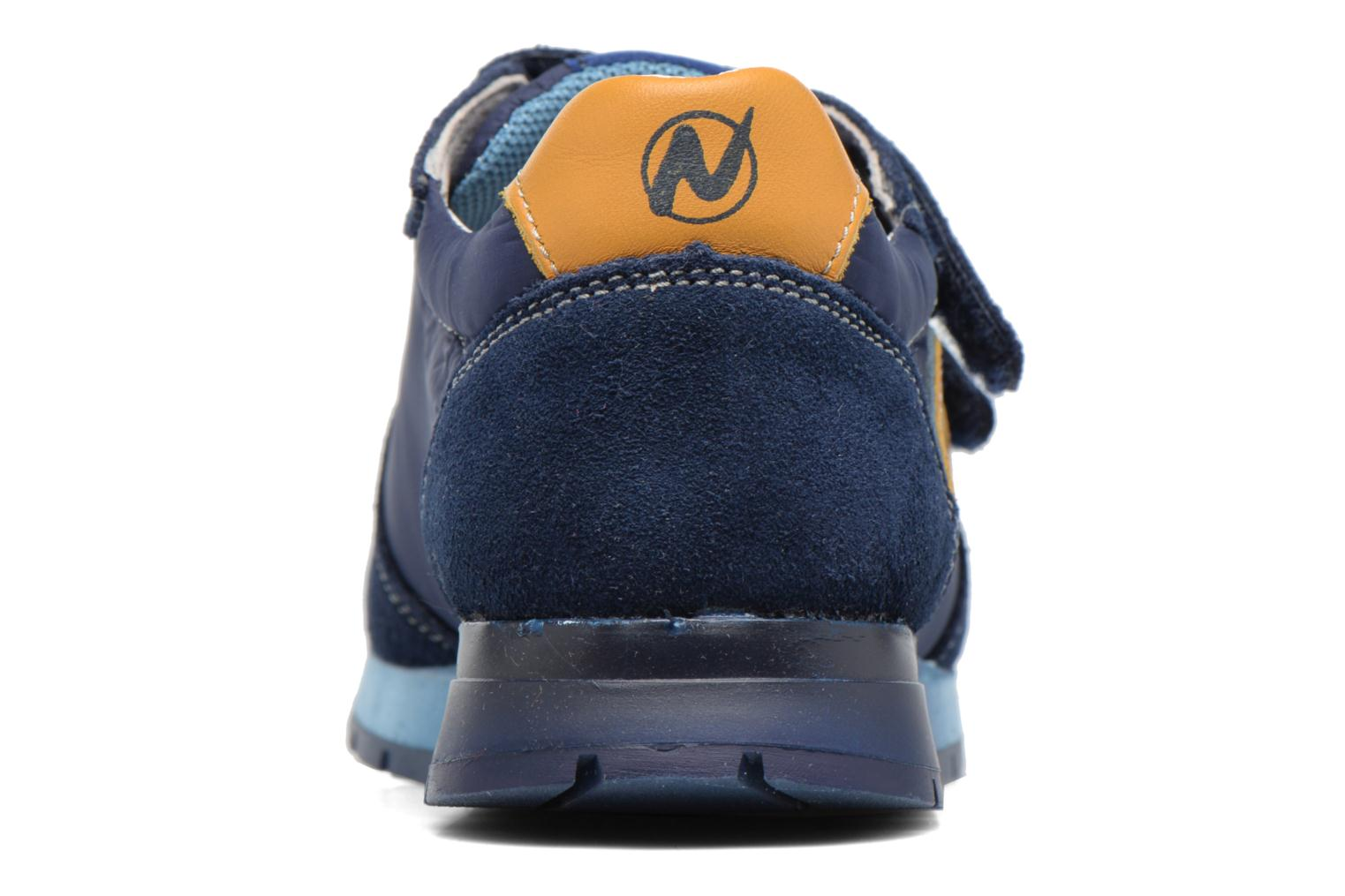 Trainers Naturino Bomba VL Blue view from the right