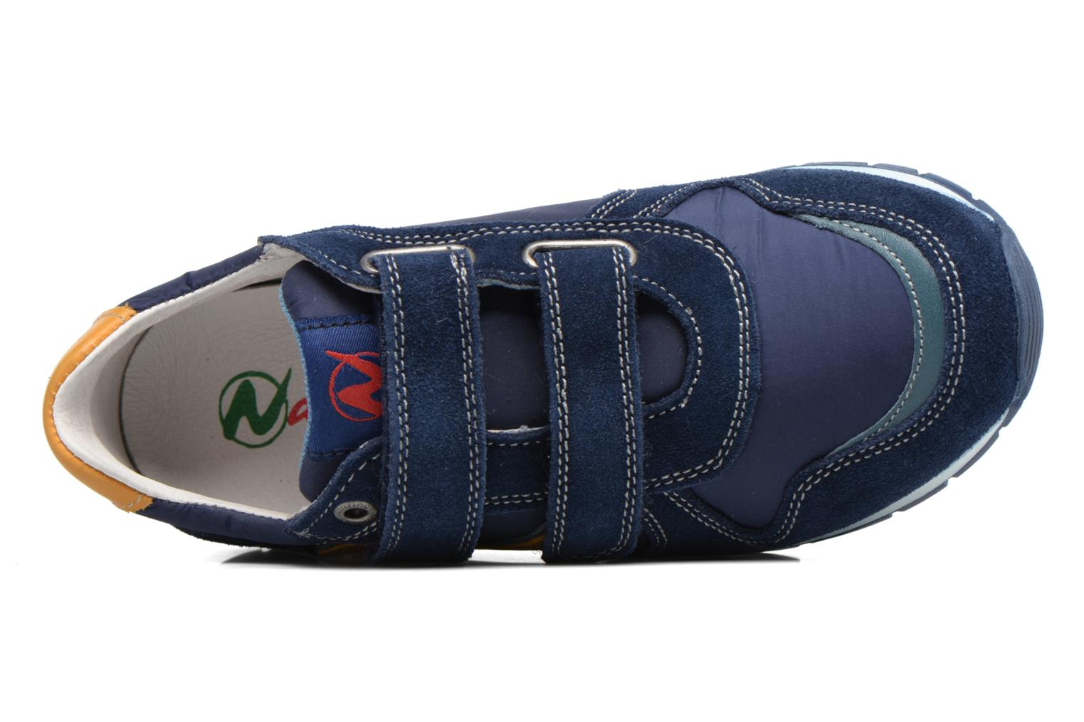 Trainers Naturino Bomba VL Blue view from the left